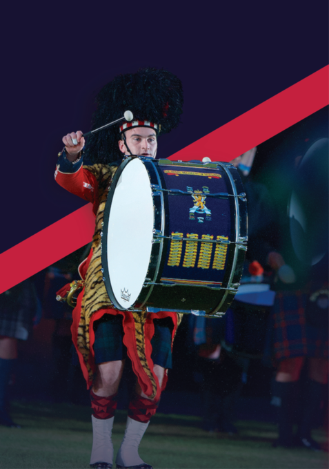 Highland military tattoo 8 10 september 2017 at fort george for Military tattoo policy 2017